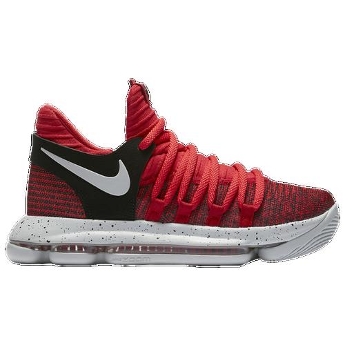 Nike KD X - Boys\u0027 Grade School - Kevin Durant - Red / Grey