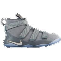 Nike LeBron Soldier 11 - Boys\u0027 Preschool - Lebron James - Grey / Grey