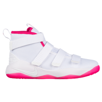 Nike LeBron Soldier XI - Boys' Preschool -  Lebron James - White / Pink