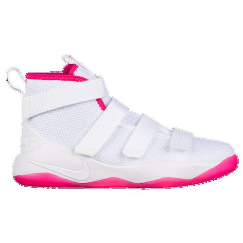 d3488599a4a Nike LeBron Soldier XI - Boys Preschool - Basketball - Shoes - Lebron James  - White ...