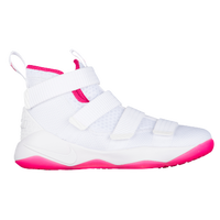 Nike LeBron Soldier XI - Boys' Grade School -  Lebron James - White / Pink