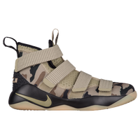 Nike LeBron Soldier XI - Boys' Grade School -  Lebron James - Olive Green / Olive Green