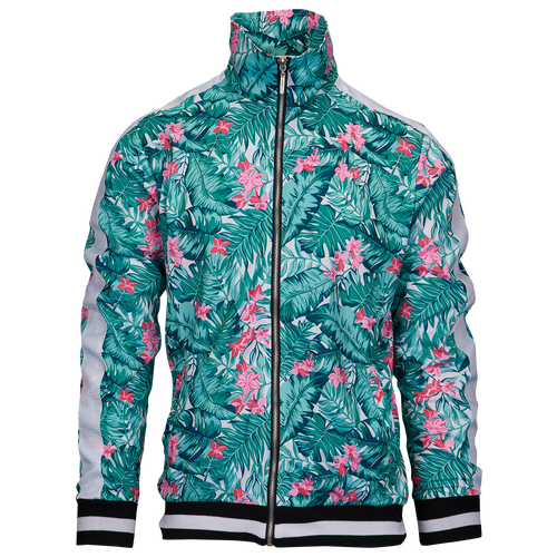 American Stitch Floral Jacket - Men's Casual - Green/Pink 184035GN