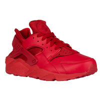 nike huarache mens all red