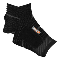 Shock Doctor Ankle Wrap - Black / Black