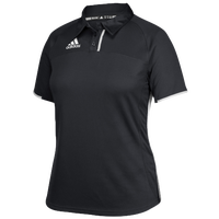 adidas Team Utility Polo - Women's - Black / White