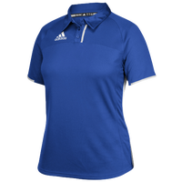 adidas Team Utility Polo - Women's - Blue / White