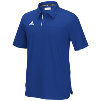 adidas Team Utility Polo - Men's - Blue / White