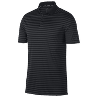 Nike Dri-Fit Victory Stripe Golf Polo - Men's - Black / Grey