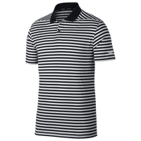 Nike Dri-Fit Victory Stripe Golf Polo - Men's - Black / White