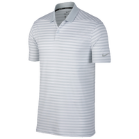 Nike Dri-Fit Victory Stripe Golf Polo - Men's - Grey / White