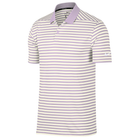 Nike Dri-Fit Victory Stripe Golf Polo - Men's - Purple / Off-White