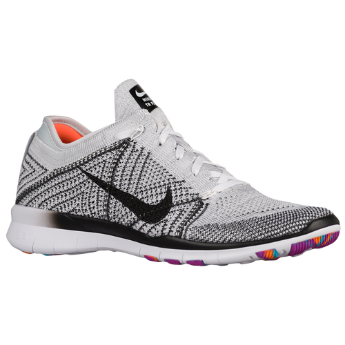 Nike Free TR 5 Flyknit - Women's - Training - Shoes - White/Pure  Platinum/Hyper Violet