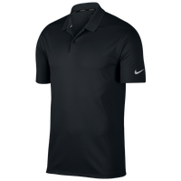 Nike Dri-Fit Victory Solid Golf - Men's - Black / Silver