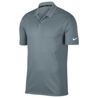 Nike Dri-Fit Victory Solid Golf Polo - Men's - Grey