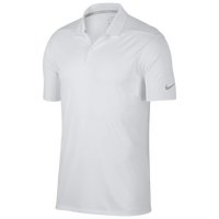 Nike Dri-Fit Victory Solid Golf Polo - Men's - White / Black