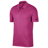 Nike Dri-Fit Victory Solid Golf Polo - Men's - Pink / Black