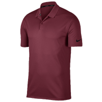 Nike Dri-Fit Victory Solid Golf Polo - Men's - Maroon / Maroon