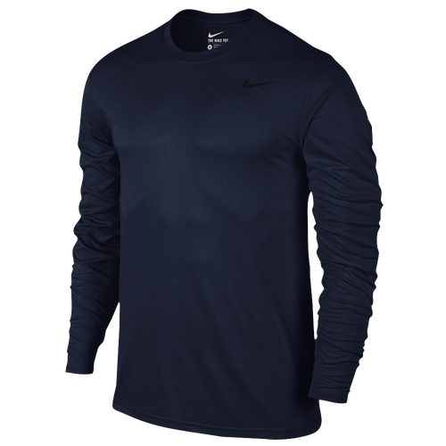 Nike Legend 2.0 Long Sleeve T-Shirt - Men's Training - Obsidian/Black 18837451