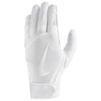 Nike Huarache Edge Batting Gloves - Men's - All White / White