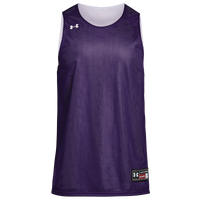 Under Armour Team Triple Double Jersey - Men's - Purple / White
