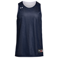Under Armour Team Triple Double Jersey - Boys' Grade School - Navy / White