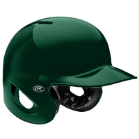 Rawlings S90PA Performance Rated Batting Helmet - Men's - Dark Green / Dark Green