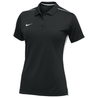 Nike Team Dry Elevated Polo - Women's - Black