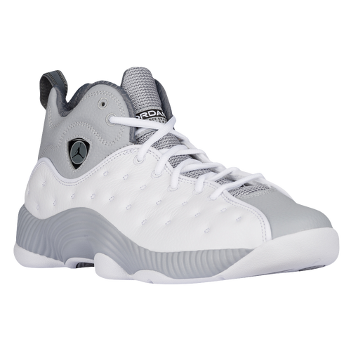 00254763a44428 ... inexpensive jordan jumpman team ii mens basketball shoes white black  wolf grey cool grey 817c3 2ed02