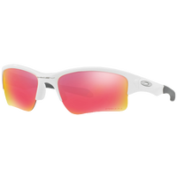 Oakley Quarter Jacket Sunglasses - White / Grey