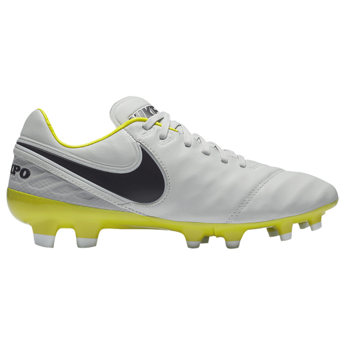 Nike Tiempo Legacy II FG - Women's - Soccer - Shoes - Pure Platinum/Purple  Dynasty/Electric Lime/White