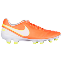 Nike Tiempo Legacy II FG - Women's - Orange / White