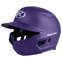 Rawlings Mach Ext Junior Batting Helmet - Grade School - Purple
