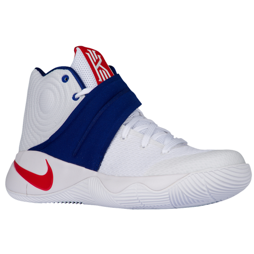 Nike Kyrie 2 - Men's - Basketball - Shoes - USA - Kyrie Irving -  White/University Red/Deep Royal Blue