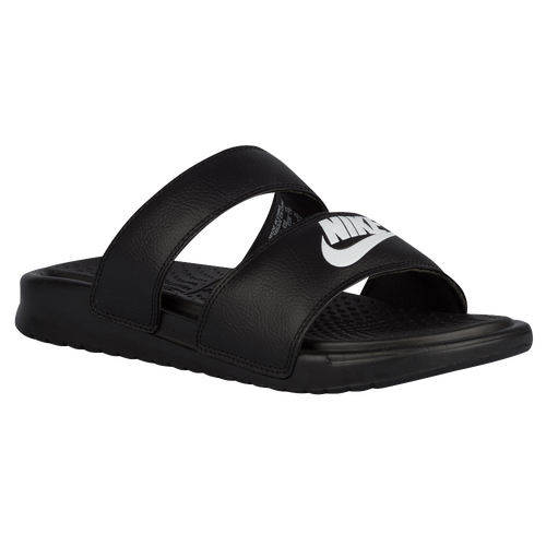 19717010 Womens Nike Benassi Duo Ultra Slide - Black/White