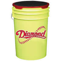 Diamond Ball Bucket - Yellow / Red