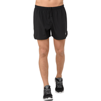 "ASICS® 5"" Silver Shorts - Men's - Black"