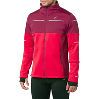 ASICS® Lite-Show Winter Jacket - Men's - Maroon / Pink