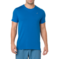 ASICS® Seamless Short Sleeve T-Shirt - Men's - Blue