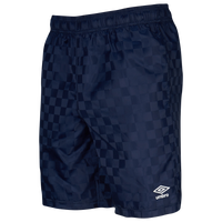 Umbro Checkerboard Shorts - Men's - Navy