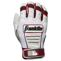 Franklin CFX Pro Batting Gloves - Men's - Maroon / Off-White