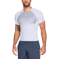 Under Armour Threadborne Vanish S/S Compression Top - Men's - White