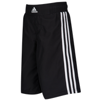 adidas Youth Grappling Shorts - Boys' Grade School - Black