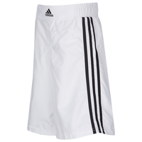 adidas Youth Grappling Shorts - Boys' Grade School - White