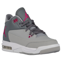 Jordan Flight Origin 3 - Girls' Grade School - Grey / Pink