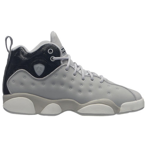 ba779bbed1e5 ... clearance jordan jumpman team ii boys grade school basketball shoes  grey fog light bone black sail