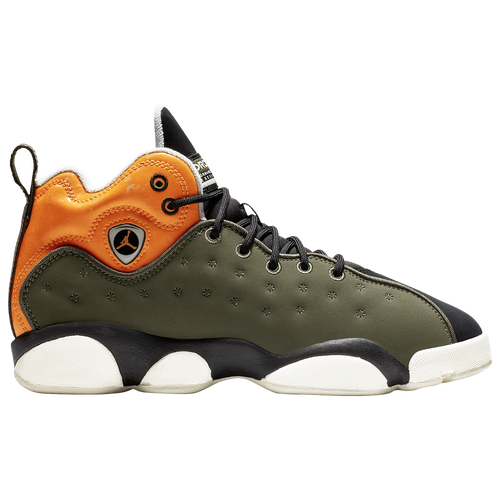 brand new 77962 d4a64 ... switzerland jordan jumpman team ii boys grade school basketball shoes  twilight marsh total orange black light