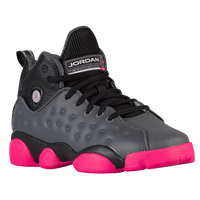 Jordan Jumpman Team II - Girls' Grade School - Grey / Pink