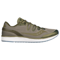 Saucony Freedom ISO - Men's - Olive Green / Olive Green