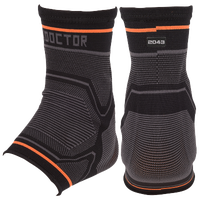 Shock Doctor Ankle Sleeve W/Gel Support - Black / Grey
